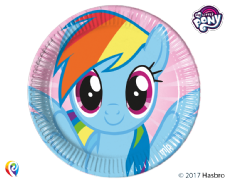 8 My Little Pony Paper Party Plates
